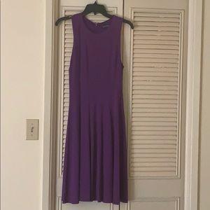 Lauren by Ralph Lauren Posh Purple Jersey Dress